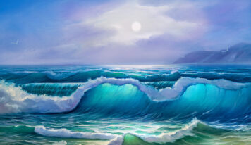 Paintings with Stunning Sea Waves