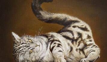 Interesting Paintings of Cute Cats