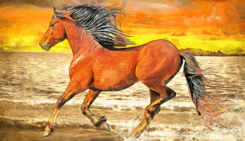 Fascinating Paintings of Beautiful Horses