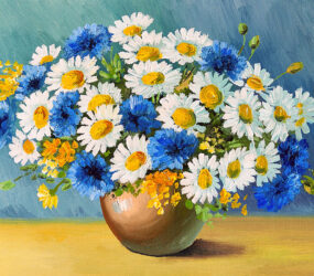 Magnificent Paintings with Bouquets of Flowers