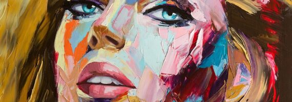 Paintings with the Faces of Fantastic Women