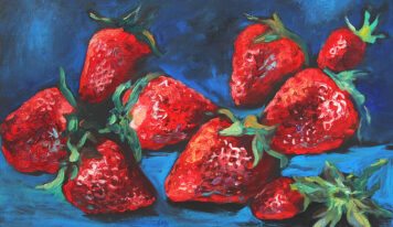 Oil Paintings with Various Berries