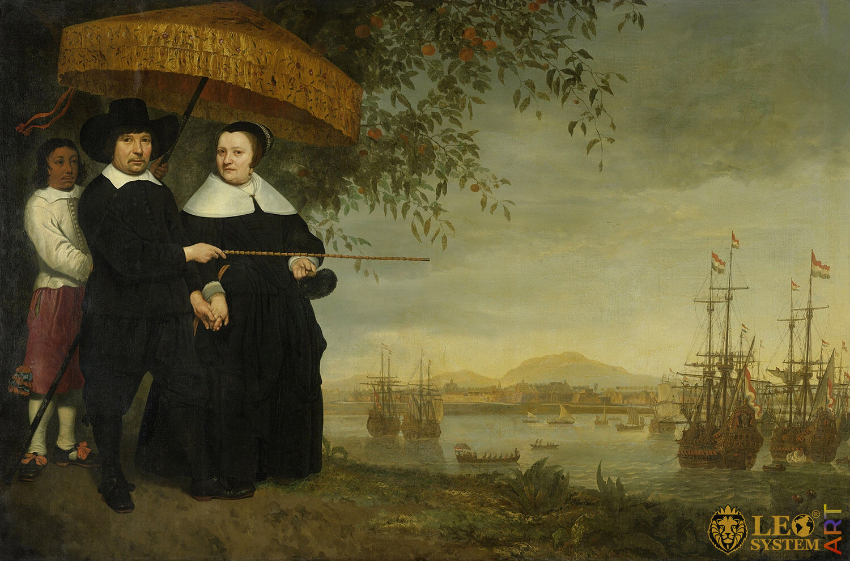 VOC Senior Merchant, Artist: Aelbert Cuyp, 1640-1660, Amsterdam, Netherlands, Original painting