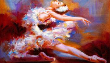 Paintings with Beautiful Ballerinas