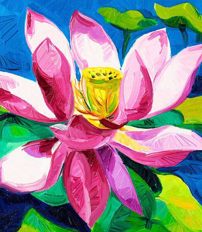 Gorgeous Paintings with Flowers