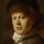 Portrait of Rembrandt van Rijn, 1628, Original painting