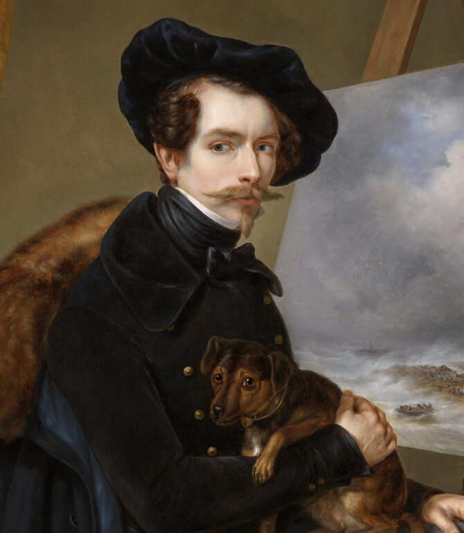 Paintings with Self-Portraits of Famous Painters