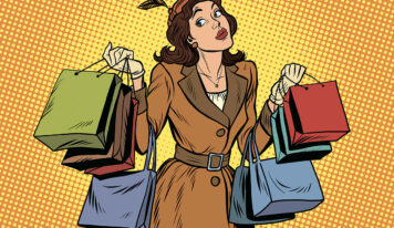 Fascinating Pictures of Female Shopping